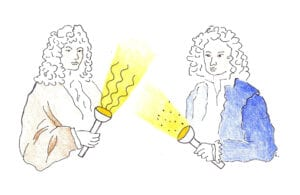 huygens-principle-and-particle-of-light-depiction