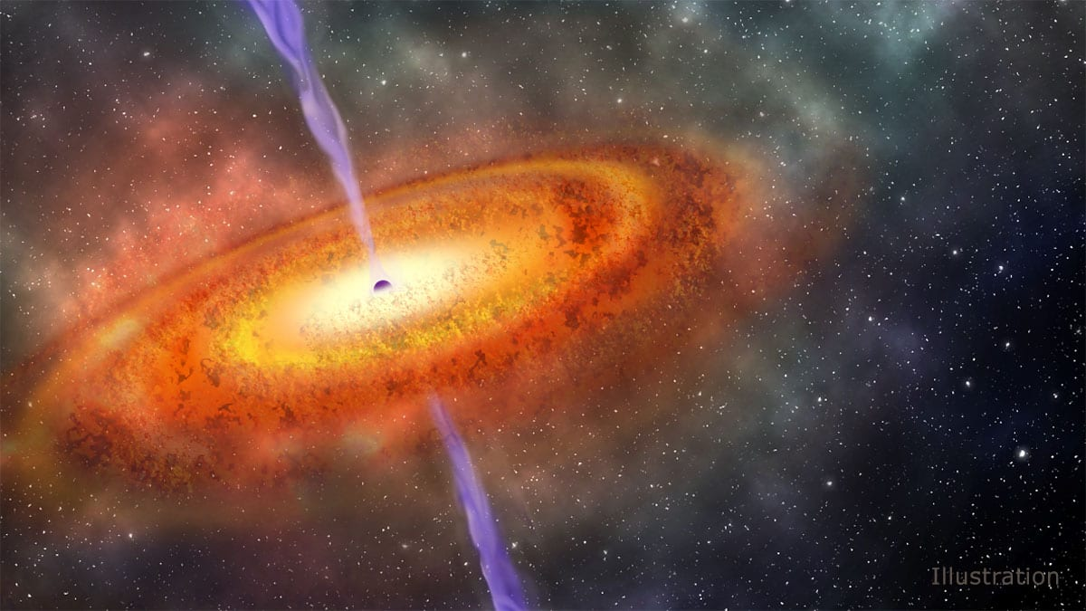 most-distant-supermassive-black-hole-ever-discovered