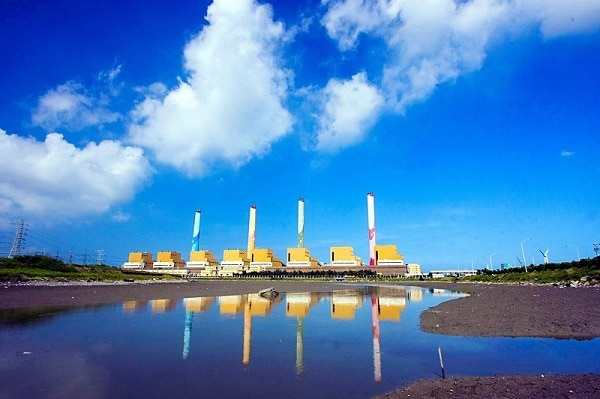 Fossel-fuel-power-plant-Taichung-power-plant